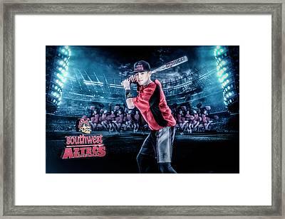 Southwest Aztecs Baseball Organization Framed Print by Nicholas Grunas