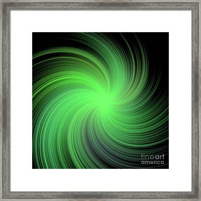 Spiral Framed Print by Michal Boubin