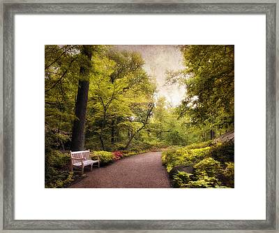 Spring Repose Framed Print by Jessica Jenney