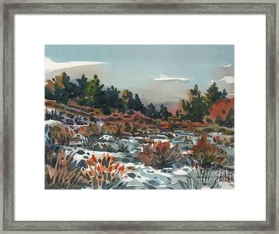 Spring Thaw Framed Print