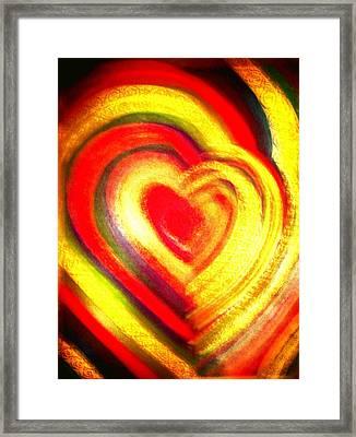 Springtime Love Framed Print by Brenda Adams