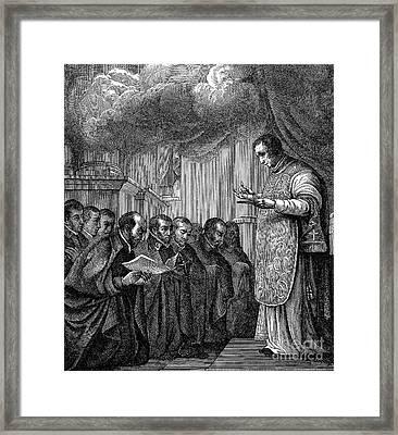 St. Ignatius Loyola Framed Print by Granger