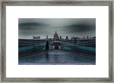 St Paul's Cathedral Framed Print by Martin Newman