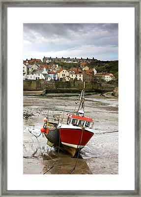 Staithes, North Yorkshire, England Framed Print by John Short