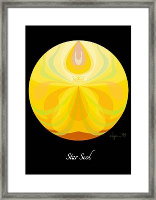 Star Seed Framed Print