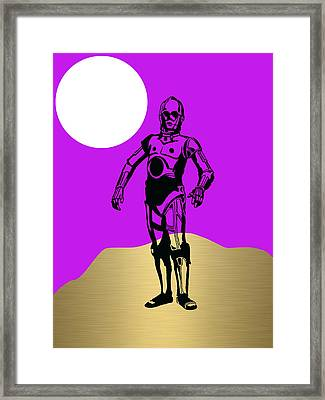 Star Wars C-3po Collection Framed Print