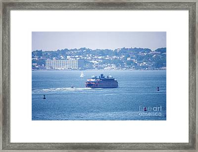 Staten Island Ferry Framed Print by William Rogers
