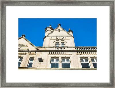 Stone Buildings  Framed Print by Tom Gowanlock