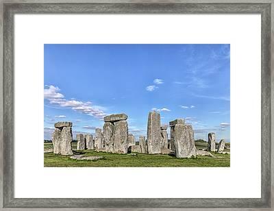 Stonehenge - England Framed Print by Joana Kruse