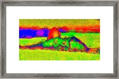 Sugarloaf Of Rio 300 - Da Framed Print