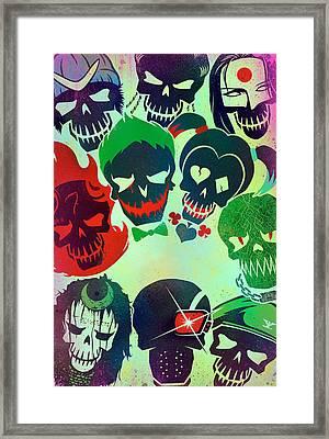 Suicide Squad 2016 Framed Print