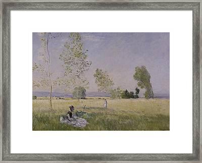 Summer Framed Print by Claude Monet