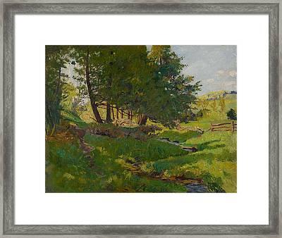 Summer Near Beaupre Framed Print by Maurice Cullen