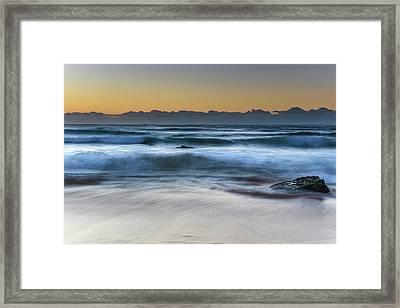 Sunrise By The Sea Framed Print