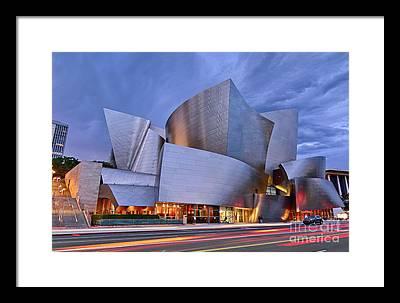 Walt Disney Concert Hall Photographs Framed Prints