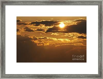 Sunset Framed Print by Michal Boubin