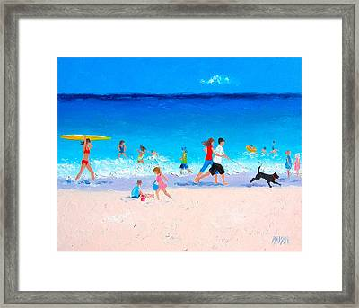Sunshine And Summertime Framed Print