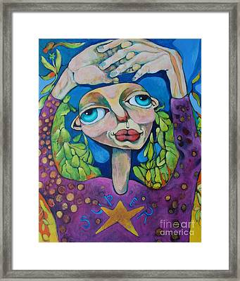 Superstar Framed Print