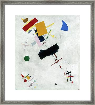 Suprematism Framed Print by Kazimir Malevich