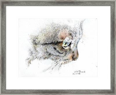 Syomka Framed Print by Natalia Eremeyeva Duarte