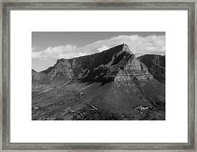 Table Mountain - Cape Town Framed Print
