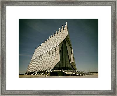 The Air Force Academy Chapel Framed Print by Mountain Dreams