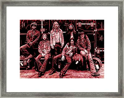 The Allman Brothers Collection Framed Print