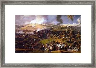The Battle Of Borodino  Framed Print by Louis Lejeune
