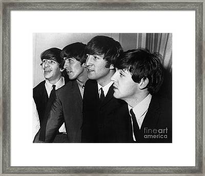 The Beatles Framed Print
