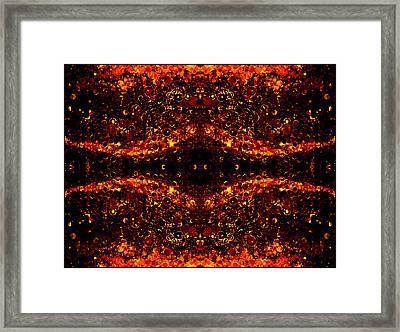 The Beginning Or The End Framed Print