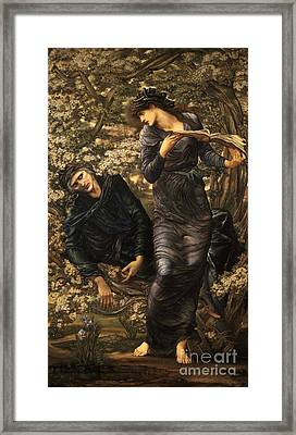 The Beguiling Of Merlin Framed Print by Celestial Images