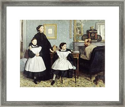 The Bellelli Family Framed Print by MotionAge Designs