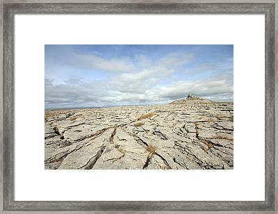 The Burren Framed Print by John Quinn