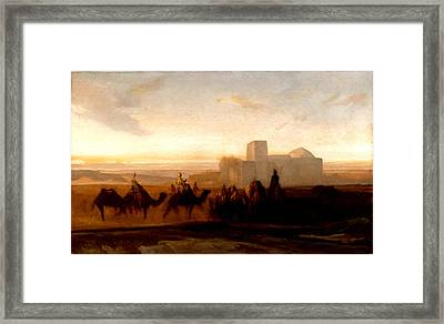 The Caravan Framed Print