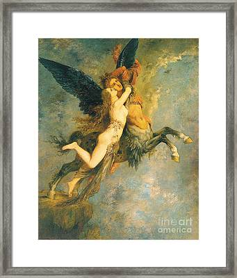 The Chimera Framed Print