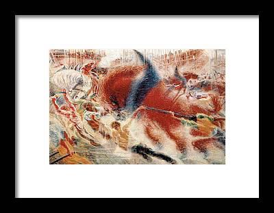 Boccioni Framed Prints