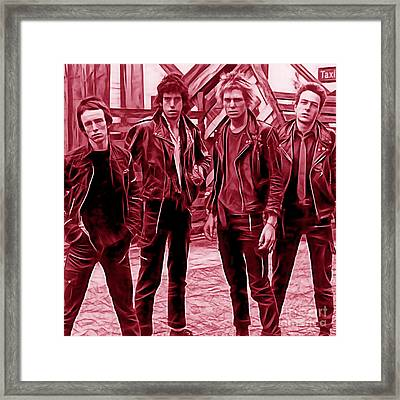 The Clash Collection Framed Print