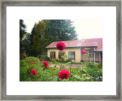 The Cottage Framed Print by Sunaina Serna Ahluwalia