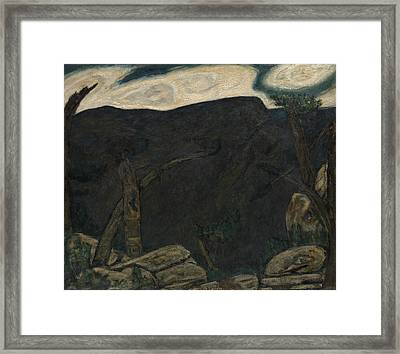 The Dark Mountain, No. 2 Framed Print