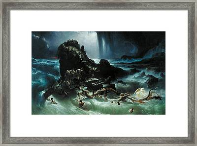 The Deluge Framed Print by Francis Danby