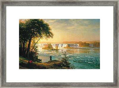 The Falls Of Saint Anthony Framed Print