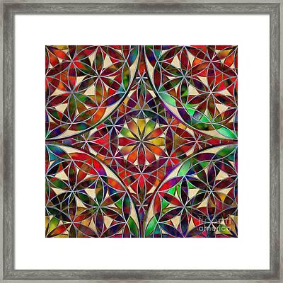 The Flower Of Life Framed Print