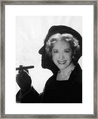 The George Burns And Gracie Allen Show Framed Print