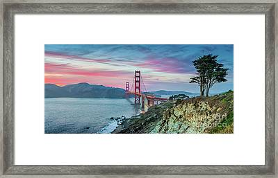 The Golden Gate Framed Print by JR Photography