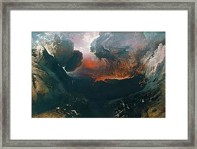 The Great Day Of His Wrath Framed Print