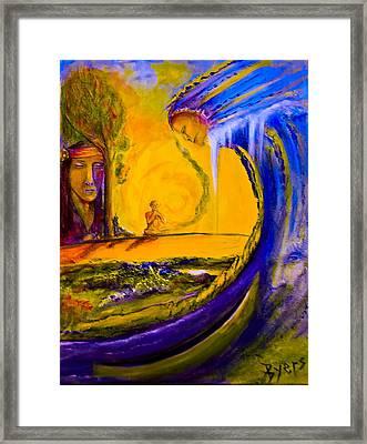 The Island Of Man Framed Print