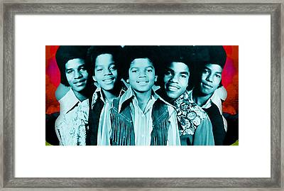 The Jackson 5 Collection Framed Print