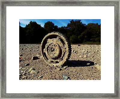 The Last Tractor Framed Print by Scott D Van Osdol