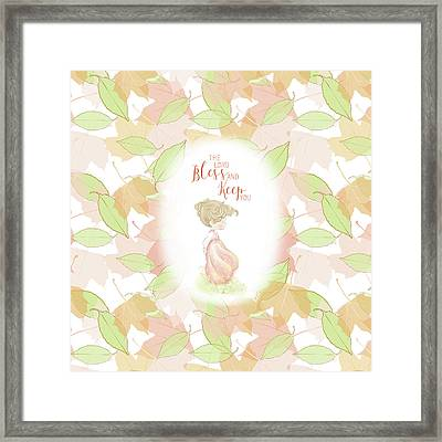 The Lord Bless You And Keep You Framed Print by Precious Moments