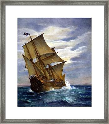 The Mayflower Framed Print by Granger